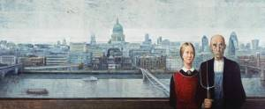 Manuel López Herrera, 'View from the Tate Modern'