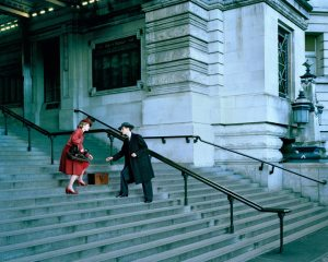 Lottie Davies Waterloo Station, Anthony and Joy 1975, 2013,  edition of 6