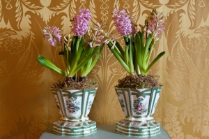 Pair of Flower pots © Jonathan Turner and Harewood House Trust