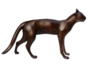 Dido Crosby Smooth Cat, 2011 Caste bronze 42cm x 74cm x 11cm. Edition of 12.