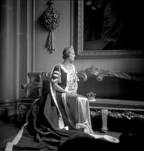 The Countess of Pembroke in her Robes for the Coronation of George VI, 1937 © The Cecil Beaton Studio Archive