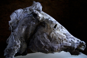 "Andrew Lacey Ghost 1/9   Bronze   H 20"" x 26"" x 9"""