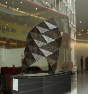 CAESURA IV (Maquette), 1995 Bronze 5 of 5  50 x 30 x 40cm ©