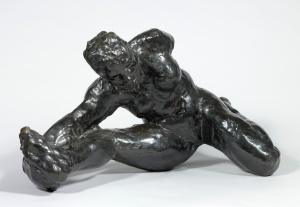 Crouching Woman,  Auguste Rodin, 1891,  copyright Victoria and Albert Museum, London