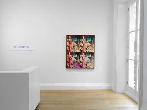 In Homage at Skarstedt London installation view,  Andy Warhol, Disquieting Muses (after de Chirico), 1982,  Image courtesy of Skarstedt