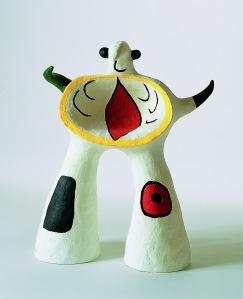 Joan Miró,  Projet pour un monument,1979,  Private Collection  © Successió Miró / ADAGP, Paris and DACS London 2014.