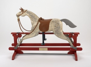 Rocking horse presented by President Obama and Mrs Obama to Prince George, 2013 Royal Collection Trust / (C) Her Majesty Queen Elizabeth II 2014.