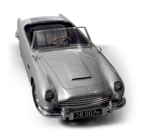 Miniature Aston Martin DB5 presented to Prince Andrew, 1966. Royal Collection Trust / (C) Her Majesty Queen Elizabeth II 2014.
