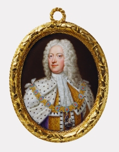 Christian Frederick Zincke, George II, c.1727 Royal Collection Trust / copyright Her Majesty Queen Elizabeth II 2014.