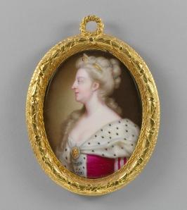 Christian Frederick Zincke, Queen Caroline, c.1727 Royal Collection Trust / copyright Her Majesty Queen Elizabeth II 2014.
