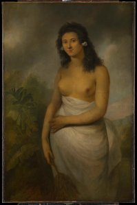 Poedua, the daughter of Orio (c.1758–c.1788)        by John Webber, c.1784 Oil on canvas National Maritime Museum, London