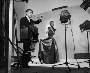 Horst directing fashion shoot with Lisa Fonssagrives 1949 Photo by Roy Stevens /Time & Life Pictures / Getty Images