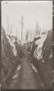 35 The trenches in winter