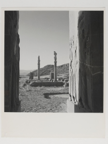 View of ruins at the palace of Persepolis, Persia 1949 © Condé Nast / Horst Estate