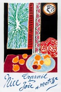 BarclaySamson Matisse,  Nice poster, 1947,   @Chelsea Antiques Fair