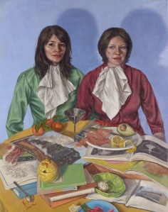 Portrait Of The Artist And Her Wife