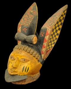 Yoruba Egungun Mask from Nigeria.  £12,000. Michael Backman Gallery