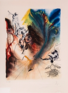 Lot 171 Salvador Dali (1904-1989) Four Dreams of Paradise The complete set of four lithographs printed in colours, 1973 © Bloomsbury Auctions