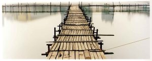 """Jetty"" by Richard Heeps, C-type photography, 65 x 107 cm, edition of 25. £595 at Bleach Box Photography Gallery"
