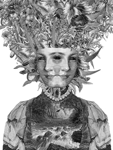 "Dan Hillier  ""Lark"", hand-pulled screen print,  Courtesy of The Other Art Fair"