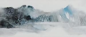 Zhang Guojun Dream in Xin'An, 2014 (detail) Jingdezhen Porcelain Panel FitzGerald Fine Arts