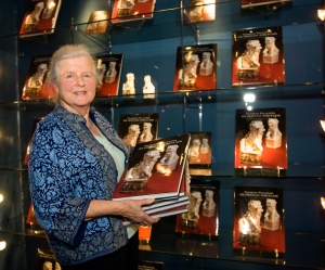 Helen Espir at the launch of her book in 2005.  Courtesy of Image 2 Photography