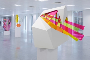 Tobias Rehberger Installation view, Paradigm Store, Howick Place 2014 Photography Sylvain Deleu Courtesy of HS Projects