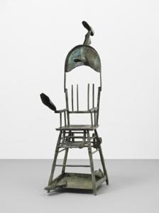 Joan MIRO Femme et oiseaux / Woman and Birds 1972 60 5/8 x 34 5/8 x 19 5/8 in / 154 x 88 x 50 cm bronze cast no.EA II (artist's proof )