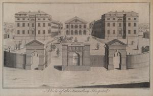 Benjamin Cole, A View of the Foundling Hospital, 1756  © Coram in the care of the Foundling Museum