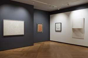 Installation view, Post-War Italian Masters, Mazzoleni London, 14 October - 19 December 2014, Courtesy Mazzoleni London