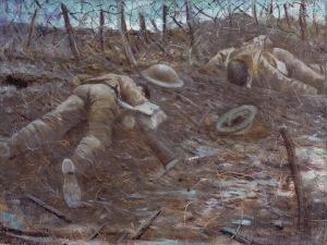 Paths of Glory (1917) CRW Nevinson Oil on canvas ©IWM ART 518