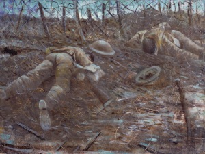 Paths of Glory (1917) CRW Nevinson Oil on canvas ©IWM ART 518