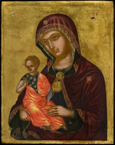 Madre della Consolazione Veneto-Cretan, early 16th century, 26 x 20.5 cm ©