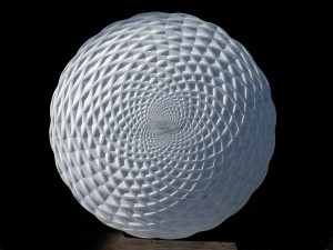 Tim Pomeroy, Pine Cone, 2014, Marble, 60 cm diameter, courtesy of The Fine Art Society