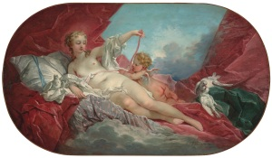 Venus and Cupid by François Boucher (1703-1770) (estimate: £350,000-500,000) CHRISTIE'S IMAGES LTD. 2014
