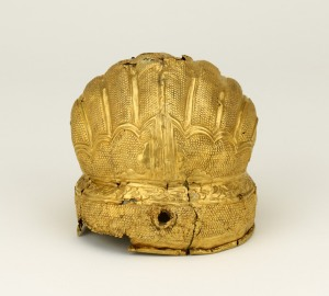 Head ornament. Gold. About 1400–50. Nanjing or Beijing. © Trustees of the British Museum