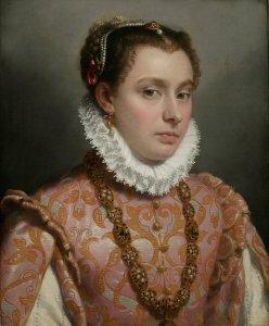 Giovanni Battista Moroni Young Lady, c.1560-65 Oil on canvas, 51 x 42 cm Private collection Photo: Private collection