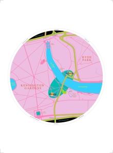Michael Craig-Martin Map 2013 Courtesy Serpentine Galleries  serpentinegalleries.org