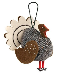 'Fine Cell Work's Handmade Turkey Decoration' www.finecellwork.co.uk