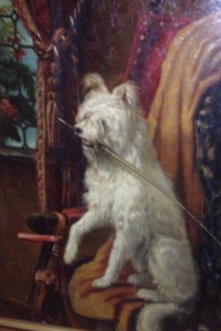 A Lady's riding dog,  Dutch, dated 1861  Courtesy of Nick Jones -18th-20th Century Antiques