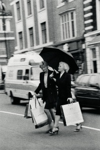 Diana and Marilyn Shopping 2000 © Alison Jackson