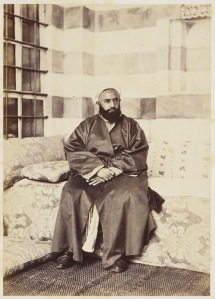 Portrait of Abd al-Qadir, May 1862 Royal Collection Trust / © Her Majesty Queen Elizabeth II 2014