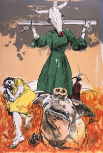 Scarecrow  Paula Rego 2006  courtesy of Marlborough Fine Art
