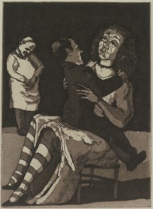 The Baker's Wife Paula Rego  courtesy of Marlborough Fine Art