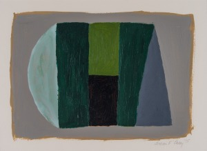 Untitled 1995,  Acrylic on paper    48 x 57 cm  Image courtesy of the  artist's estate