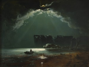 North Cape probably 1840s Oil on canvas 94 × 123 cm Credit Line:Private collection © Photo Thomas Widerberg, Oslo