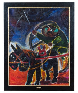 Javad Mir Javadov The Long Way 1975 oil on canvas  141 x 111 cm Private collection Baku  (C)