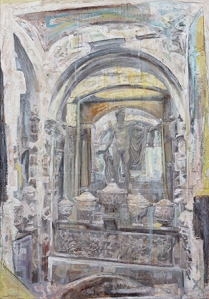 Sir John Soane's Museum 2014                                 130 x 90 cm 51 x 35 ½ in. Courtesy of Marlborough Fine Art