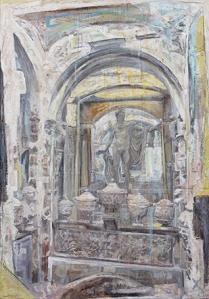 Sir John Soane's Museum 2014                                 130 x 90 cm 51 x 35 ½ in. Courtesy of Marlborough Fine Art