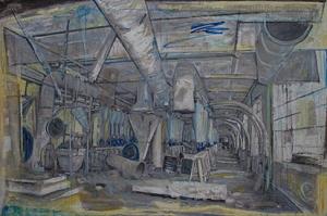 Millenium Mills 2014                         100 x 150 cm 39 ¼ x 59 in. Courtesy of Marlborough Fine Art